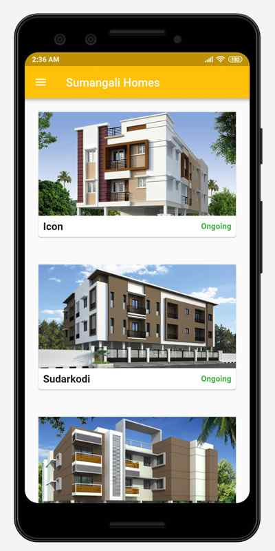 Sumangali Homes Android App