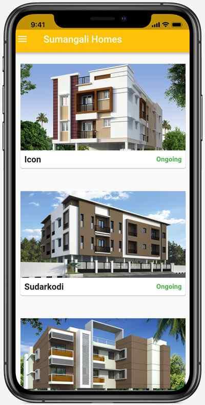 Sumangali Homes iPhone App
